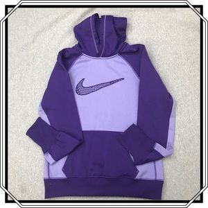 Nike Purple Therma-fit Hoodie Size M